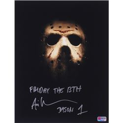 "Ari Lehman Signed Jason Voorhees 11x14 Photo Inscribed ""Friday the 13th""  ""Jason 1"" (PA COA)"