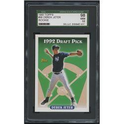 1993 Topps #98 Derek Jeter RC (SGC 10)