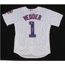 Eddie Vedder Signed Chicago Cubs Jersey (JSA LOA)