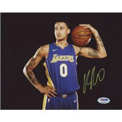Kyle Kuzma Signed Los Angeles Lakers 8x10 Photo (PSA Hologram)
