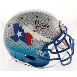 Randall Cobb Signed Dallas Cowboys Full-Size Authentic On-Field Hydro Dipped Helmet (Beckett COA)