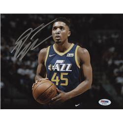 Donovan Mitchell Signed Utah Jazz 8x10 Photo (PSA COA)