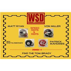 WSD Full Size Helmet Mystery Box Series 4 - Autographed Football Helmet Series #/50