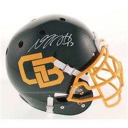 Davante Adams Signed Green Bay Packers Full-Size Authentic On-Field Helmet (Beckett COA)'