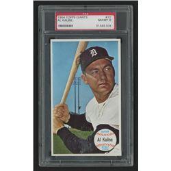 1964 Topps Giants #12 Al Kaline (PSA 8)