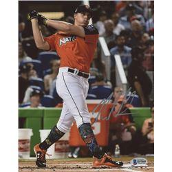 Nolan Gorman Signed New York Mets 8x10 Photo (Beckett COA)
