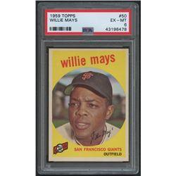 1959 Topps #50 Willie Mays (PSA 6)