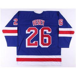 Jimmy Vesey Signed Jersey (Vesey COA)