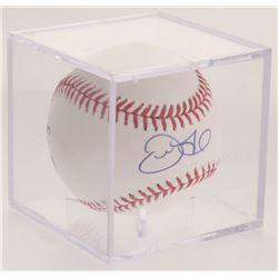 Derek Fisher Signed OML Baseball (MLB Hologram)