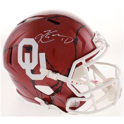 Kyler Murray Signed Oklahoma Sooners Full-Size Hydro Dipped Speed Helmet (Beckett COA)