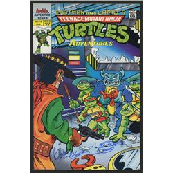 Kevin Eastman Signed Teenage Mutant Ninja Turtles Original Comic Book with Hand-Drawn Turtles Sketch