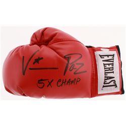 "Vinny Paz Signed Everlast Boxing Glove Inscribed ""5X! Champ"" (JSA COA)"