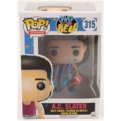 """Mario Lopez Signed """"Saved By The Bell"""" A.C. Slater #315 Funko Pop! Vinyl Figure (Beckett COA)"""