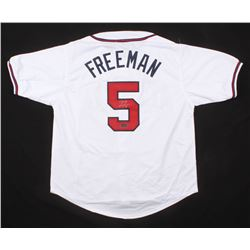 Freddie Freeman Signed Jersey (Radtke COA)