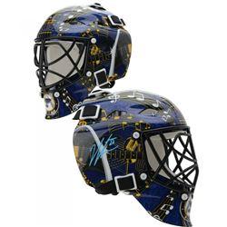 Jordan Binnington Signed St. Louis Blues Mini Goalie Mask (Fanatics Hologram)