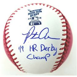 """Pete Alonso Signed 2019 Home Run Derby OML Baseball Inscribed """"'19 HR Derby Champ"""" (Fanatics Hologra"""