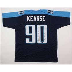 "Jevon Kearse Signed Jersey Inscribed ""The Freak"" (Radtke COA)"