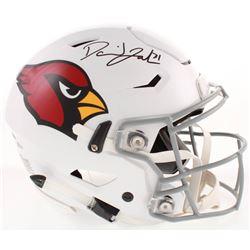 David Johnson Signed Arizona Cardinals Full-Size Authentic On-Field SpeedFlex Helmet (Beckett COA)