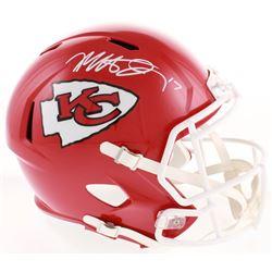 Mecole Hardman Signed Kansas City Chiefs Full-Size Speed Helmet (JSA COA)
