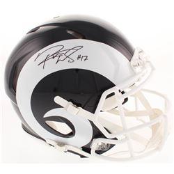 Robert Woods Signed Los Angeles Rams Full-Size Authentic On-Field Speed Helmet (Beckett COA)