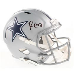 Randall Cobb Signed Dallas Cowboys Full-Size Speed Helmet (Beckett COA)