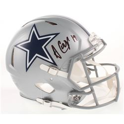 Amari Cooper Signed Dallas Cowboys Full-Size Authentic On-Field Speed Helmet (Beckett COA)