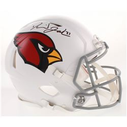 David Johnson Signed Arizona Cardinals Full-Size Authentic On-Field Speed Helmet (Beckett COA)