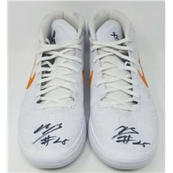 Mikal Bridges Signed Pair of Game-Used Nike Shoes (Fanatics COA)