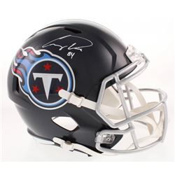 Corey Davis Signed Tennessee Titans Full-Size Speed Helmet (Beckett COA)