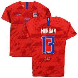 Alex Morgan Signed Team USA Jersey (Fanatics Hologram)