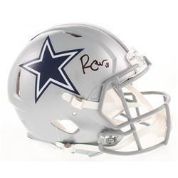 Randall Cobb Signed Dallas Cowboys Full-Size Authentic On-Field Speed Helmet (Beckett COA)