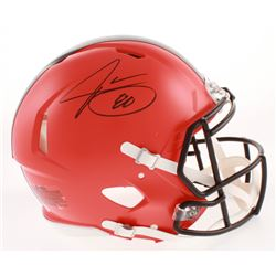 Jarvis Landry Signed Cleveland Browns Full-Size Authentic On-Field Speed Helmet (JSA COA)