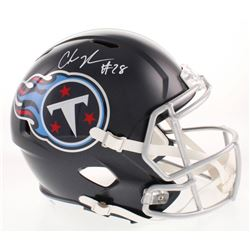 Chris Johnson Signed Tennessee Titans Full-Size Speed Helmet (Beckett COA)