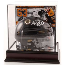 Brad Marchand Signed Boston Bruins Mini Helmet with Display Case (Marchand COA)