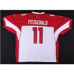 Larry Fitzgerald Signed Arizona Cardinals Jersey (Beckett COA)