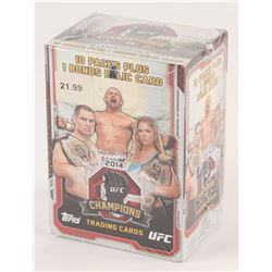 2014 Topps UFC Champions Cards Box with (10) Packs