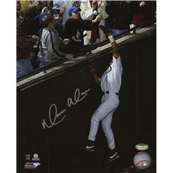 Moises Alou Signed Chicago Cubs 8x10 Photo (Schwartz COA)