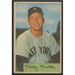 1954 Bowman #65 Mickey Mantle