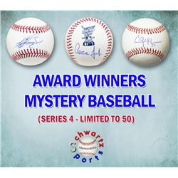 Schwartz Sports MLB Award Winners Signed Baseball Mystery Box - Series 4 (Limited to 75)