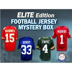 Schwartz Sports ELITE Football Superstar Signed Mystery Box Football Jersey Series 1 - (Limited to 5