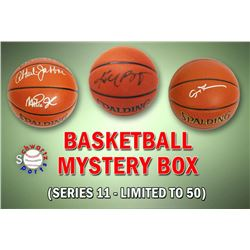 Schwartz Sports Basketball Superstar Signed Mystery Box Basketball - Series 11 (Limited to 100) (Pri