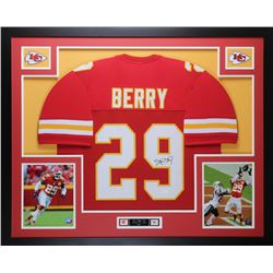 Eric Berry Signed 35x43 Custom Framed Jersey (JSA COA)