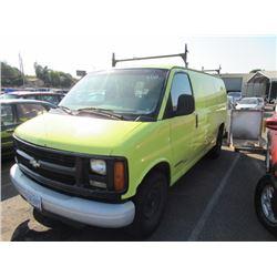 2001 Chevrolet Express