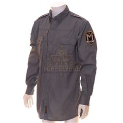 Timeless (TV) – Mason Industries Security Officer Shirt– TL103