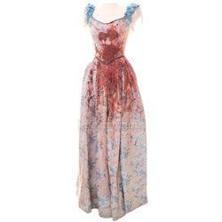 "Timeless (TV) – Lucy Preston's Distressed ""Lincoln Assassination"" Dress – TL261"