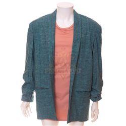 "Timeless (TV) – Rufus Carlin's ""Miami Vice"" Style Jacket & Shirt – TL172"