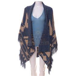 Timeless (TV) – Carol Preston's Sweater & Blanket Wrap – TL280