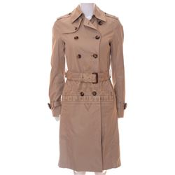 Timeless (TV) – Lucy Preston's Trench Coat – TL273