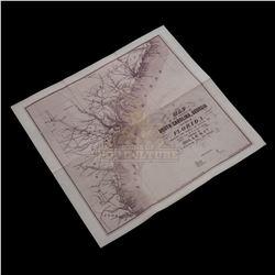 Timeless (TV) – Wyatt Logan's Civil War Map – TL120