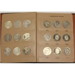 1971-1978S USA 32x Ike Dollar Set Silver, Proof, P D S Mints & Varieties Set Eisenhower $1.00 Coins